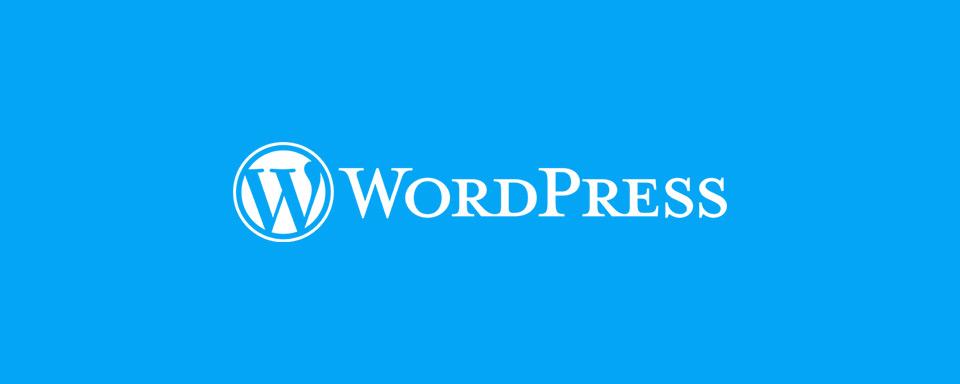 Cover Image - WordPress Logo
